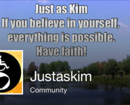 Just as Kim