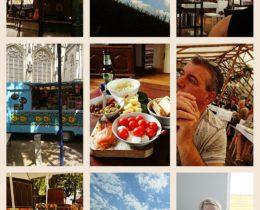 De best Day of my week! Deze zonnige zondag vol energie samen ontvangen ontbijten, douchen, in de zon genoten van mijn boek 'Het Luxor Resort' daarna in Den Bosch terassen, bezoek aan onze zoon zijn vriendin en ons kleindochter om vervolgens binnendoor naar huis te rijden en te genieten van de landerijen. Nu lekker snaaien. Fijne zondagavond nog tegoed. 😂