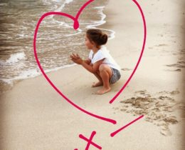 Mijn kleindochter op Mallorca