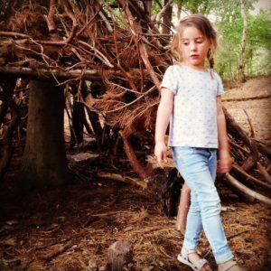 De mooiste van vandaag ! 'Tess in haar eigen fantasie wereld'