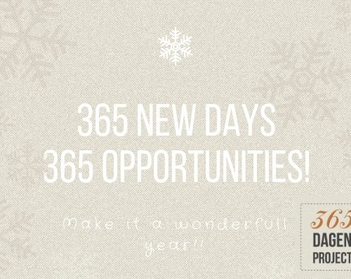365 new days 365 opportunities!