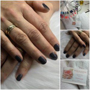 Gelpolish op mijn natuurlijke nagels. Een combinatiekleur 'Mr Grey' en 'Black dress' gemengd. #nails door Annemiek Wijnen gelakt, nagelstyliste @sparklesbyannemiek #dongen Haar prijs ligt onder het gemiddelde. Op een super locatie heeft zij haar salon. Aanradertje